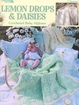 Lemon Drops & Daisies Crocheted Baby Afghans 7 Designs PATTERN/INSTRUCTIONS New - $3.57