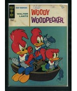 Woody Woodpecker #87 G 1965 Gold Key Comic Book - $1.63