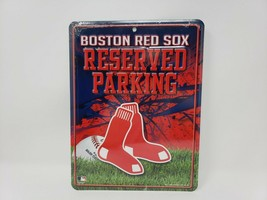 Boston Red Sox Reserved Parking Metal Sign - New - $19.99