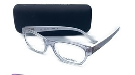 Calvin Klein Women's White Clear Glasses with case CK 5836 282 52mm - $73.99