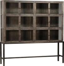 Display Cabinet DOVETAIL BRYANSTON Large Powder Coat - $4,249.00