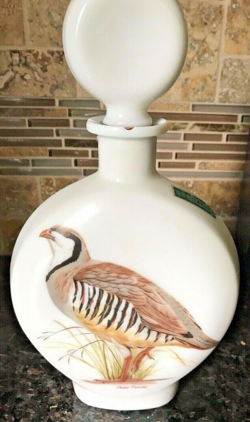 Primary image for 1969 Jim Beam Whiskey Decanter Edition No 2 Field Birds Chukar Partridge Singer