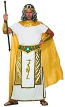 Forum Novelties Men's Mythical Zeus Costume Tunic with Cape, Gold, White... - $59.43