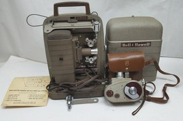 Vintage Bell & Howell 253-A Movie Film Projector 8mm/ with 8mm 134 Camer... - $179.99