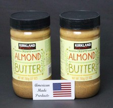 2 jars of Kirkland Signature Creamy Almond Butter, 27 oz, FREE SHIPPING - $33.99