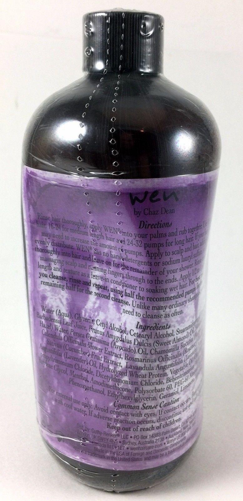 Wen Lavender Cleansing Conditioner 16 fl oz. All Hair Types NO PUMP