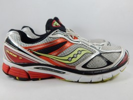 Saucony Guide 7 Size US 13 M (D) EU 48 Men's Running Shoes White 20227-2