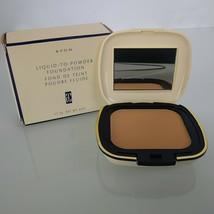 Avon Liquid to Powder Foundation 11.3 g .4 oz Blush Beige - $24.73