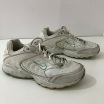 NIKE Womens 7M Walking Shoes White Leather 308699-112 - $29.95