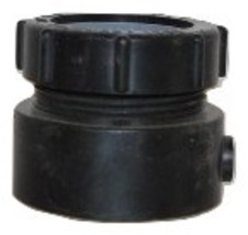"1-1/2"" Black ABS Female Trap Adapter Canplas Ind. #3931 - $2.75"