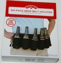 Beer Belt Holster 6 Pack Bottle Portable Waist Holder Outdoor Camping NEW - €13,85 EUR