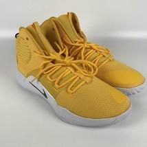 Nike Hyperdunk X TB yellow Men's size 16 Basketball Shoes AT3866 701 image 2