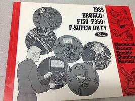 1989 Ford F150 F250 Bronco Truck Super Duty Electrical & Vacuum Wiring M... - $98.99