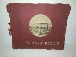 Shasta Route Photo Album Black & White 28 Photos Albertype Co. 1905 Trav... - $75.00