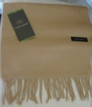 JOSEPH ABBOUD MEN'S SCARF 100% CASHMERE BLACK & BEIGE MADE IN GERMANY SO... - $179.90