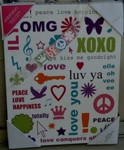 Target Xhilaration Hanging Wall Art: Texting - New - Great Graphics - Colorful - $19.79