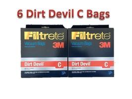 Dirt Devil Type C Deluxe Vacuum Bags (6-Pack), 3700148001 - $6.92