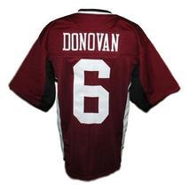 Matt Donovan Vampire Diaries New Men Football Jersey Maroon Any Size image 2