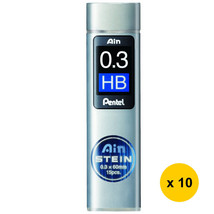 [Xmas] Pentel C273-HB Ain Stein 0.3mm Refill Leads (10tubes) - $18.83