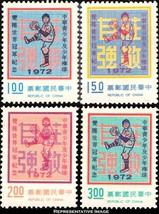 China Scott 1787-1790 Mint never hinged. - $5.00