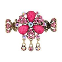 Retro Hair Accessory Hair Clips For Women, Elegant Hair Clasp Hairpin #06 - $15.63
