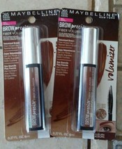 Maybelline New York Brow Precise Fiber Volumizer .27 fl oz Auburn 265 (2 pack) - $12.87