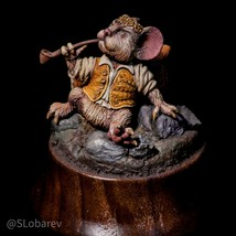Pro Painted 40mm collection miniature MAYRIDOC on wooden stand - $193.99