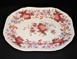 "Copeland Spode Aster Gadroon 12 5/8"" Oval Serving Platter, England - $50.00"