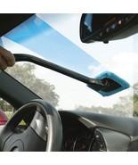 New Microfiber Auto Window/Windshield Cleaner Fast Easy Shine Brush - $12.95