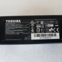 Toshiba Model PA3743U-1ACA AC/DC Adapter Charger - $14.39
