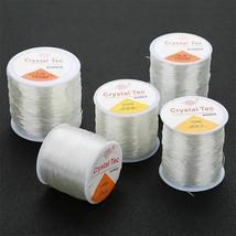 0.8mm Elastic Wire Stretch Polyester Thread Jewelry Bracelet Beading Str... - $4.49+