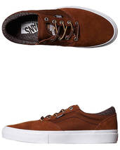 Pro TWILL SZ Crockett Men's Skate Shoes 5 Gilbert HERRINGBONE Vans TOBACCO 6 zEgIq5