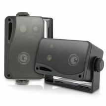 3-way Mini Box Speaker System - 3.5 Inch 200 Watt Weatherproof Marine Gr... - $41.51 CAD