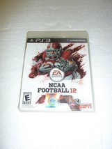 NCAA Football 12 For PlayStation 3 PS3  S-20 - $4.99