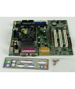 MSI MS-6340 Ver:1 Motherboard N1996 With Heatsink/Fan I/O Panel & Screws... - $88.88