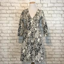 reshootHD in Paris Anthropologie Women's Python Print Texture Wrap Dress... - $31.10