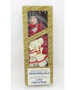 Int. Coll. Society, Land of Enchantment, Porcelain Doll, Little Red Ridi... - $17.99