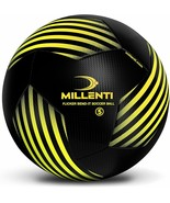 Millenti Soccer Ball Size 5 - Flicker Bend-It Soccer Balls - Classic Soccer - $25.46