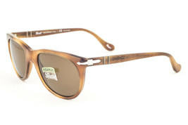 Persol 3097S 101857 Light Brown / Brown Polarized Sunglasses PO3097 - $175.91