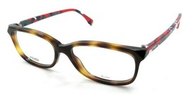 Fendi Rx Eyeglasses Frames FF 0173 TTR 52-15-140 Havana Multicolor Made ... - $156.80