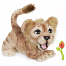 Disney Simba Mighty Roar Interactive Plush Toy by Hasbro New with Box - $129.35