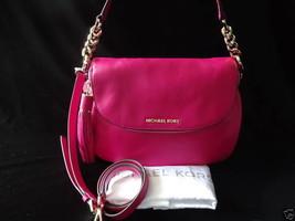 Michael Kors Leather Handbag Bedford Medium Tas... - $199.00