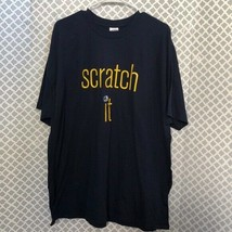 New York Lottery scratch it Navy tee - $16.83