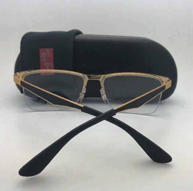 d1d387be0202 New RAY-BAN Eyeglasses RB 6335 2890 54-17 145 Semi Rimless Black