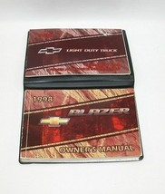 1998 Chevrolet Blazer Factory Original Owners Manual Book Portfolio #40 - $18.76