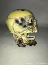2002 Metallica Rare Pushead Skull Ashtray Statue Bust Stash Original Box IOB image 5