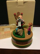 "Rare Hallmark Musical Collection ""Santa And Child"" QMD907-1 In Original ... - $100.00"