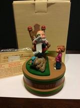 "Rare Hallmark Musical Collection ""Santa And Child"" QMD907-1 In Original ... - $100.00"