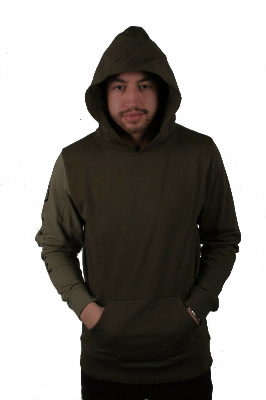 Dope Hombre Knockout con Paneles Jersey Verde Oliva Nwt