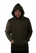 Dope Hombre Knockout con Paneles Jersey Verde Oliva Nwt image 1
